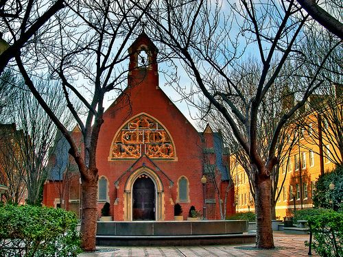 Dahlgren Chapel, Georgetown University