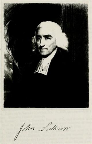 Rev. John Lathrop (1740 - 1816)